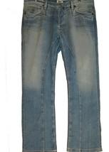 Antik Denim Design Blue Men's Jeans Cotton Wool Cashmere Size 38 $270 NEW - $64.89