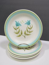 "4 Franciscan Tulip Time Earthenware Bread Side Plates 6.5/8"" - $11.88"