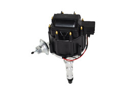 Cadillac HEI Distributor Kit 368 425 472 500 63-84 65,000 Volt V8 Black