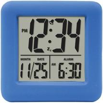 Equity By La Crosse Soft Cube Lcd Alarm Clock (blue) LCR70905 - $23.55
