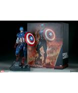 Captain America Marvel Premium Format Limited Edition Figure 1/4 Scale S... - $891.00