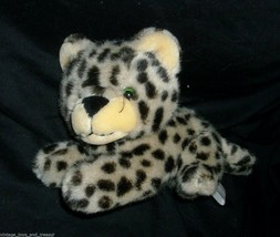 "10"" VINTAGE 1989 FIESTA SNOW LEOPARD BROWN TAN STUFFED ANIMAL PLUSH TOY ... - $23.38"
