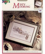 Misty Mooring Color Charts Cross Stitch PATTERN/INSTRUCTIONS Leaflet - $5.37