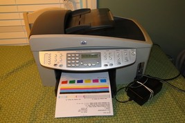 HP OfficeJet 7210 All-in-One Printer, Fax, Scanner, Copier CLEAN!!! - $183.25