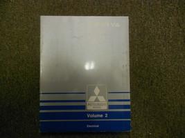 1990 Mitsubishi Sigma V6 Volume 2 Elektrisch Service Repair Shop Manuell... - $14.25