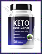 KETO RAPID MAX PURE Weightloss Supplement Slimming Pill 60ct Keto Lite Formula F - $37.95