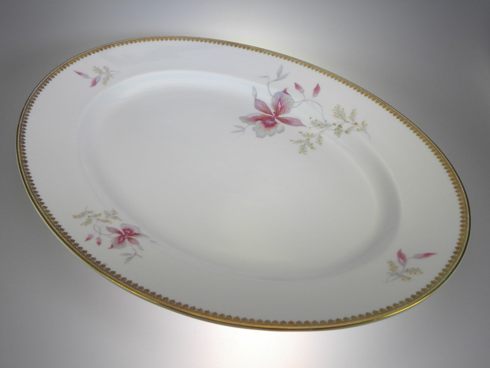 Primary image for Rosenthal Orchid (Aida) Oval Platter 14.75""