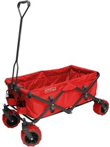 Yard Cart 7 cu. ft. 150 lb. Weight Capacity Foldable Fabric Bin Steel Ha... - $2.245,17 MXN
