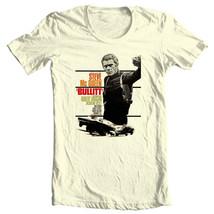 Bullitt T-shirt Steve McQueen vintage 70's movie retro cotton graphic tee Bullet image 2