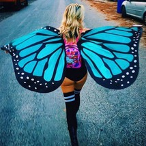 Womens Swimwear Beach Bikini Cover Up Party/festi Costume Butterfly Fairy Wings - $18.92