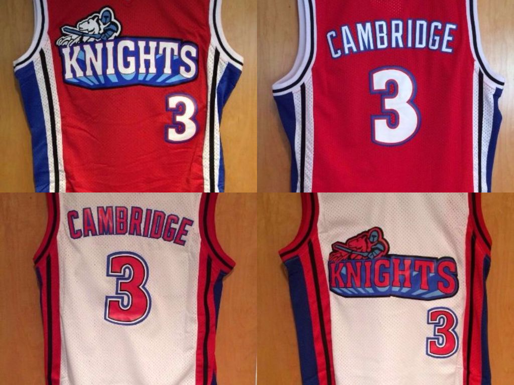 87e725630b76 S l1600. S l1600. Previous. US SELLER Calvin Cambridge Basketball Jersey 3  LA Knights Like Mike Lil Bow Wow