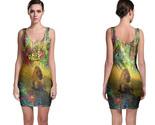 Rasta reggae lion bodycon dress thumb155 crop