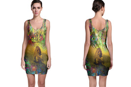 Rasta Reggae Lion Bodycon Dress - $19.60+