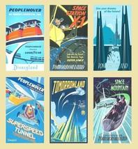 6 Disneyland Magnets (Set D) - $19.99