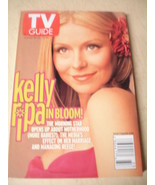 "august 2001 TV Guide Kelly Ripa sexy cover "" The Ripa Effect "" - $2.24"