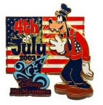 Goofy MGM Studio  July 4th  Patriotic Sorcerer's Hat Authentic  Disney  Pin - $79.99