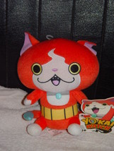 "Yokai Yo-Kai Watch Anime Plush Toy Stuffed Animal Hasbro 7"" Jibanyan Orange - $8.00"