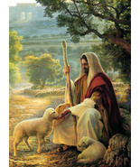 Very Large Greg Olsen Signed Print~ Lost No More (1977) - $100.00