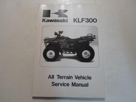 1986 1987 Kawasaki KLF300 All Terrain Vehicle Service Repair Shop Manual FACTORY - $20.78