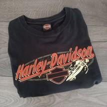 "HARLEY-DAVIDSON Black T-Shirt MIAMI FLORIDA Short Sleeve Top CHEST 56"" U... - $57.00"