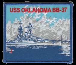 US Navy USS Oklahoma BB-37 Patch NEW!!! - $11.87