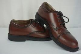 Dockers Men's Gordon Cap Toe Oxford Lace-Up Dress Shoe Brown sz 10M - $42.46