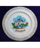 Vintage Disneyland Walt Disney World Collector Plate with Silver Accent ... - $19.99