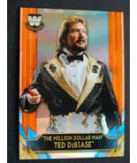 2020 Topps Chrome WWE Ted Dibiase Million Dollar Man Legends Orange Card... - $39.99