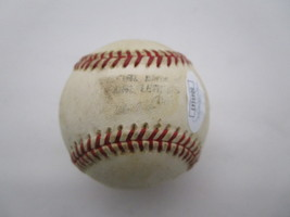 STAN MUSIAL / MLB HALL OF FAME / AUTOGRAPHED RAWLINGS BASEBALL IN CUBE / JSA COA image 3