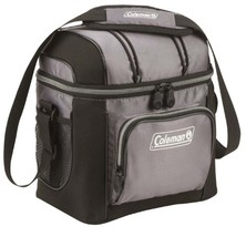 Cooler Box Lunch Soft Hard Liner Drink Camping Hiking Beach Gray Coleman... - $29.34
