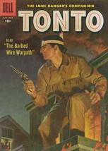 Lone Ranger's Companion Tonto, The #27 VG; Dell | low grade comic - save... - $13.99