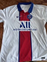 Nike PSG Paris Saint-Germain Vaporknit Match Away 2020-21 Jersey CD4188-... - $59.00