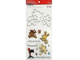 Recollections Christmas Stamp & Die Set #564159, Cute Reindeer!