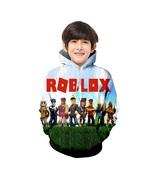 Kids Roblox 3D Hoodie Fever Series Pullover Sweatshirt Daylight For Kids - $19.99