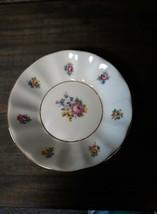 Vintage Dresden flower style Czechoslovakian porcelain dish by Concordia... - $9.56