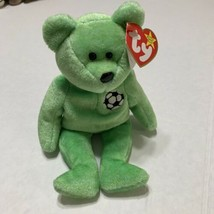 Ty Beanie Babies  KICKS the bear RARE - with Tag Errors!  - $2.96