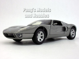Ford GT Concept Coupe 1/24 Scale Diecast Metal Model - SILVER - $28.70