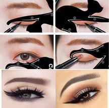 Cat Eye Double Wing Eyeliner Stencil Eyeliner Stencil eyeshadow Models T... - $51.75