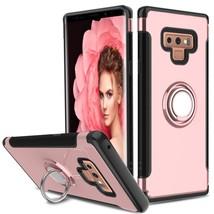 Samsung Galaxy Note 9 / N960 Dual layer Hybrid Shockproof Magnetic Car M... - $14.99