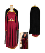 Rapunzel Tangled Princess witch Mother Gothel Dress Cosplay Costume - $89.95