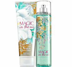 BATH & BODY WORKS Magic In The Air Body Cream + Fine Fragrance Mist Set - $27.53