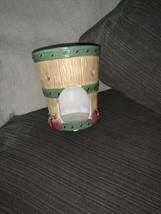 Yankee Candle Wax Tart Burner Warmer Apple Barrel Fall Country Tealight Ceramic - $14.01