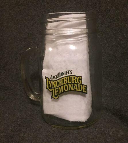jack daniel 39 s lynchburg lemonade clear handled mason jar. Black Bedroom Furniture Sets. Home Design Ideas
