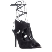 Nine West Maisie Cut Out Pizzo Vestito Sandali Nero, 9.5 US - $74.38