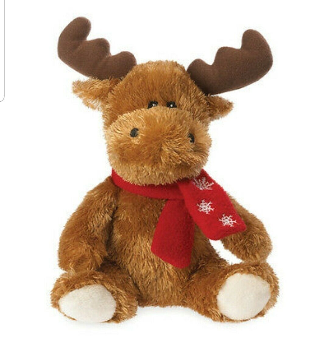 "Primary image for Boyds Bears 6"" Morty the Moose Holiday Love Buddy Plush ~ 4044179"