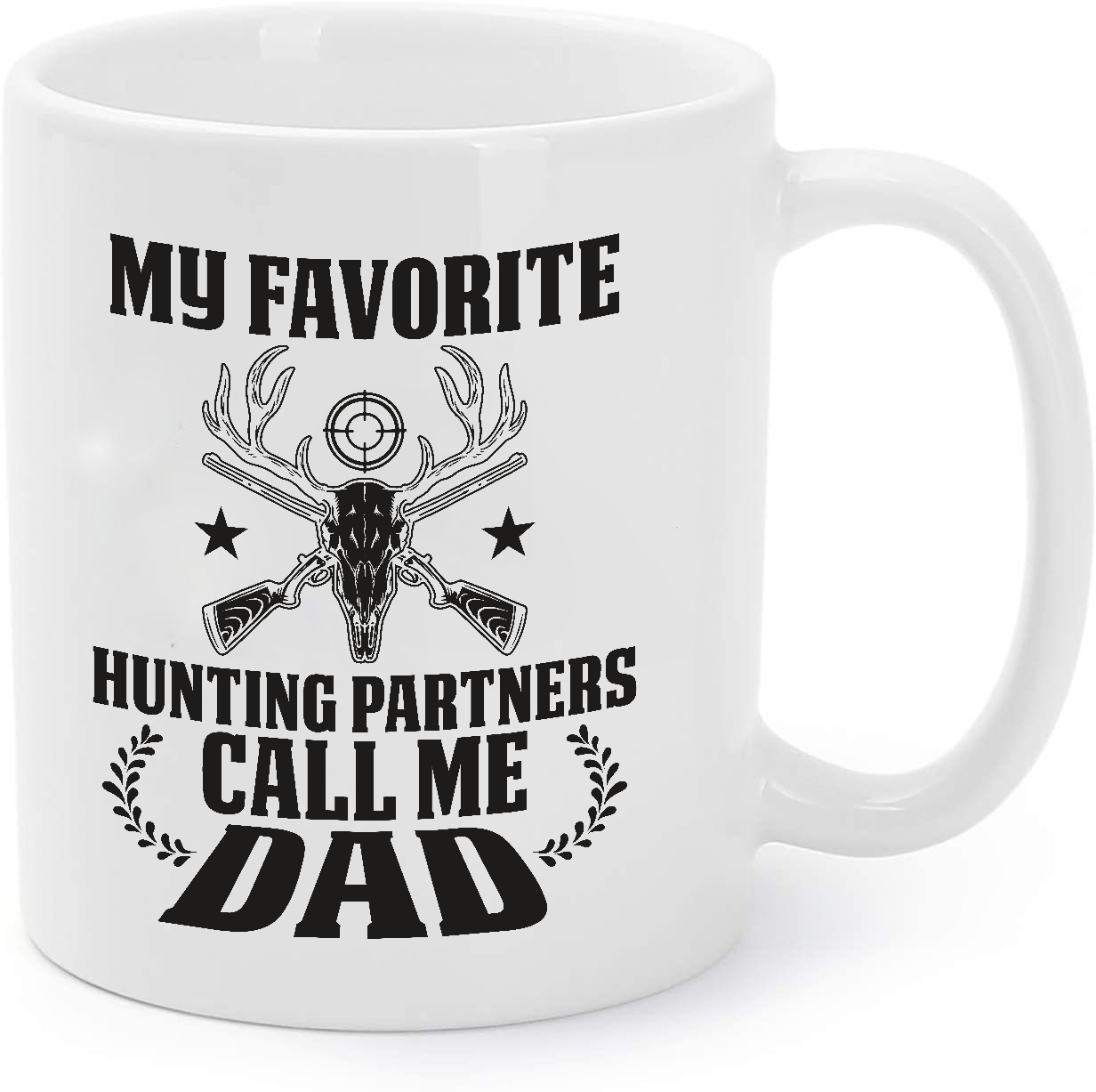 Primary image for My Favorite Hunting Partners Call Me Dad - Hunting Coffee Mug