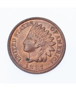 1887 1C Indian Head Cent BU Condition, Red/Brown Color, Excellent Eye Ap... - €117,44 EUR