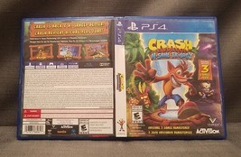 NO GAME Crash Bandicoot: N. Sane Trilogy CASE & COVER ART ONLY - $4.95