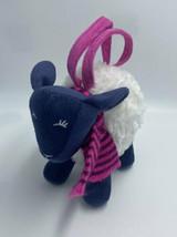 Gymboree Bundled And Bright Sheep Lamb Plush Purse White Pink Navy Blue - $14.99