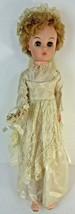 """Vintage Vinyl Betty Bride Doll Sleep Eyes 20"""" A & E Co. Girl Collectibles - $29.39"""